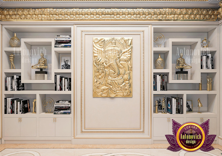 Stunning Home Shrines Made for Luxury and Comfort by Luxury Antonovich Design