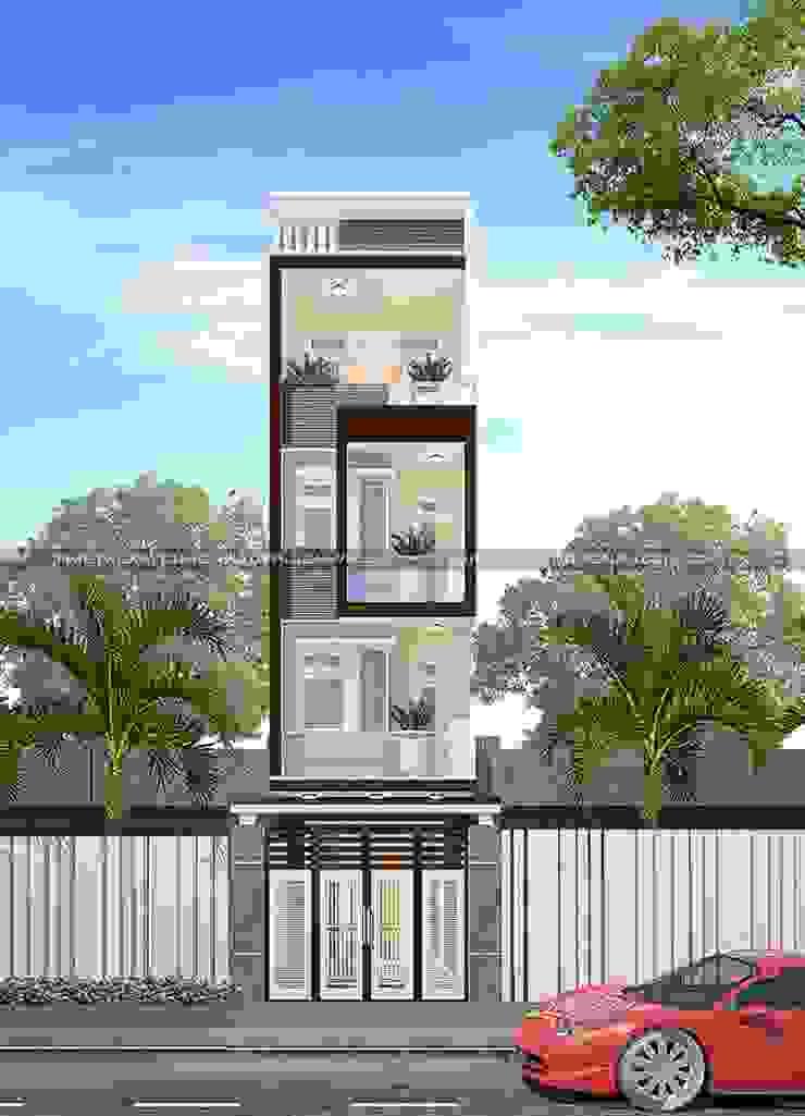 Tổng hợp các sản phẩm thiết kế nhà phố đẹp hiện đại đang được ưa chuộng bởi Công ty cổ phần tư vấn kiến trúc xây dựng Nam Long