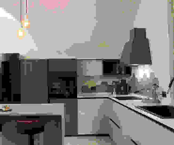 sviluppo cucina di viemme61 Industrial Cemento