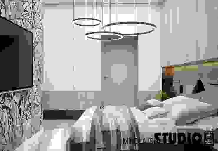 Apartament nr 333 Nowoczesna łazienka od MIKOŁAJSKAstudio Nowoczesny