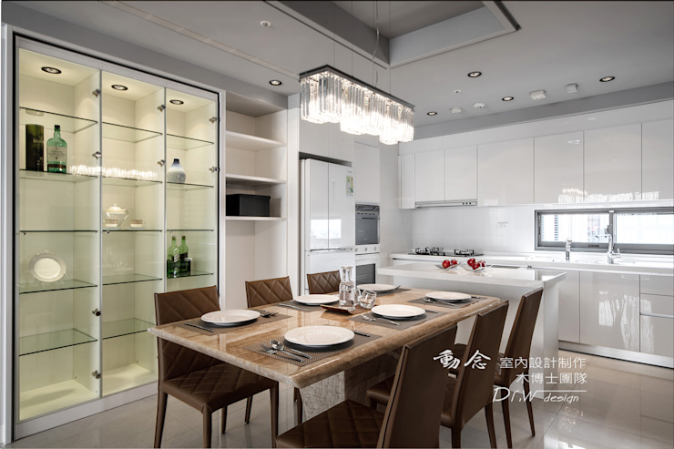 餐廳設計 根據 木博士團隊/動念室內設計制作 現代風