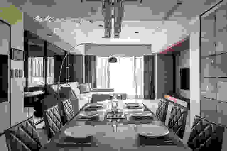 空間規劃 根據 木博士團隊/動念室內設計制作 現代風