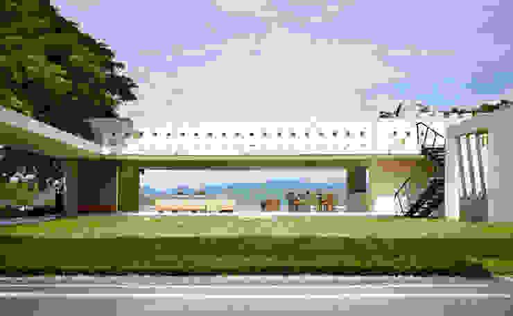 de Carlos Campuzano y Asociados Arquitectos Moderno