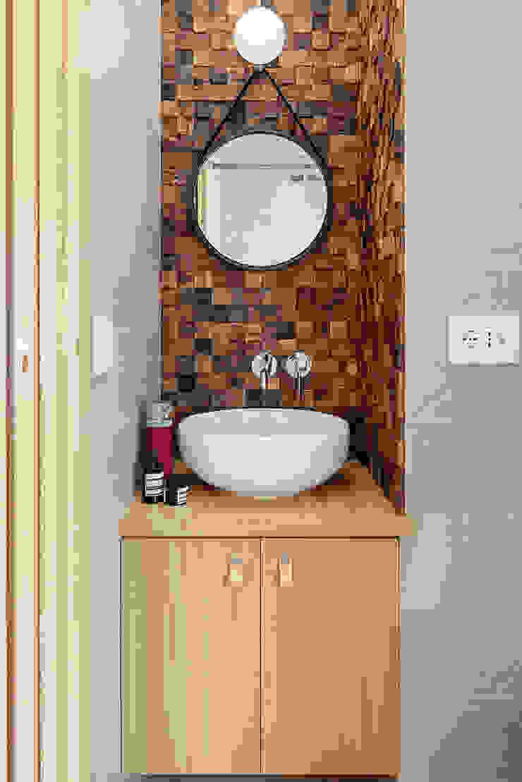 Bagno Bagno minimalista di manuarino architettura design comunicazione Minimalista Legno Effetto legno