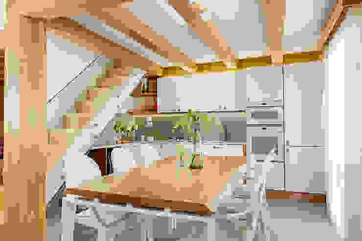 by manuarino architettura design comunicazione Minimalist Wood Wood effect