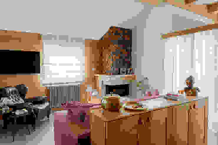 Ingresso Ingresso, Corridoio & Scale in stile minimalista di manuarino architettura design comunicazione Minimalista Legno Effetto legno