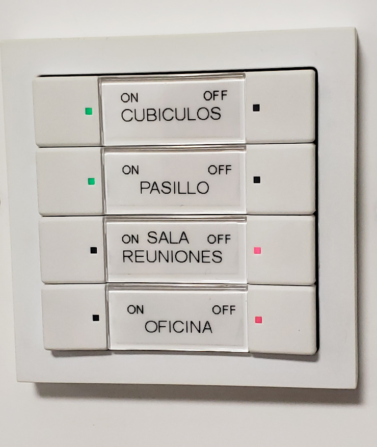 Teclera domótica de Control and Automation Solutions SpA -ControlAS