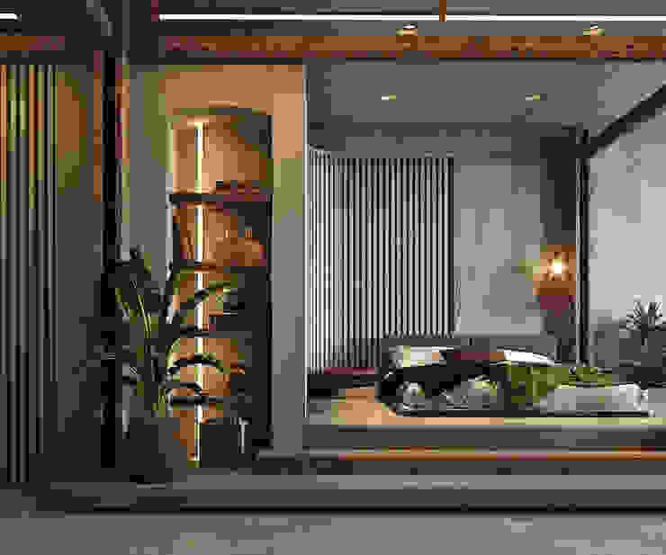 Entalcev Konstantin Rustic style bedroom