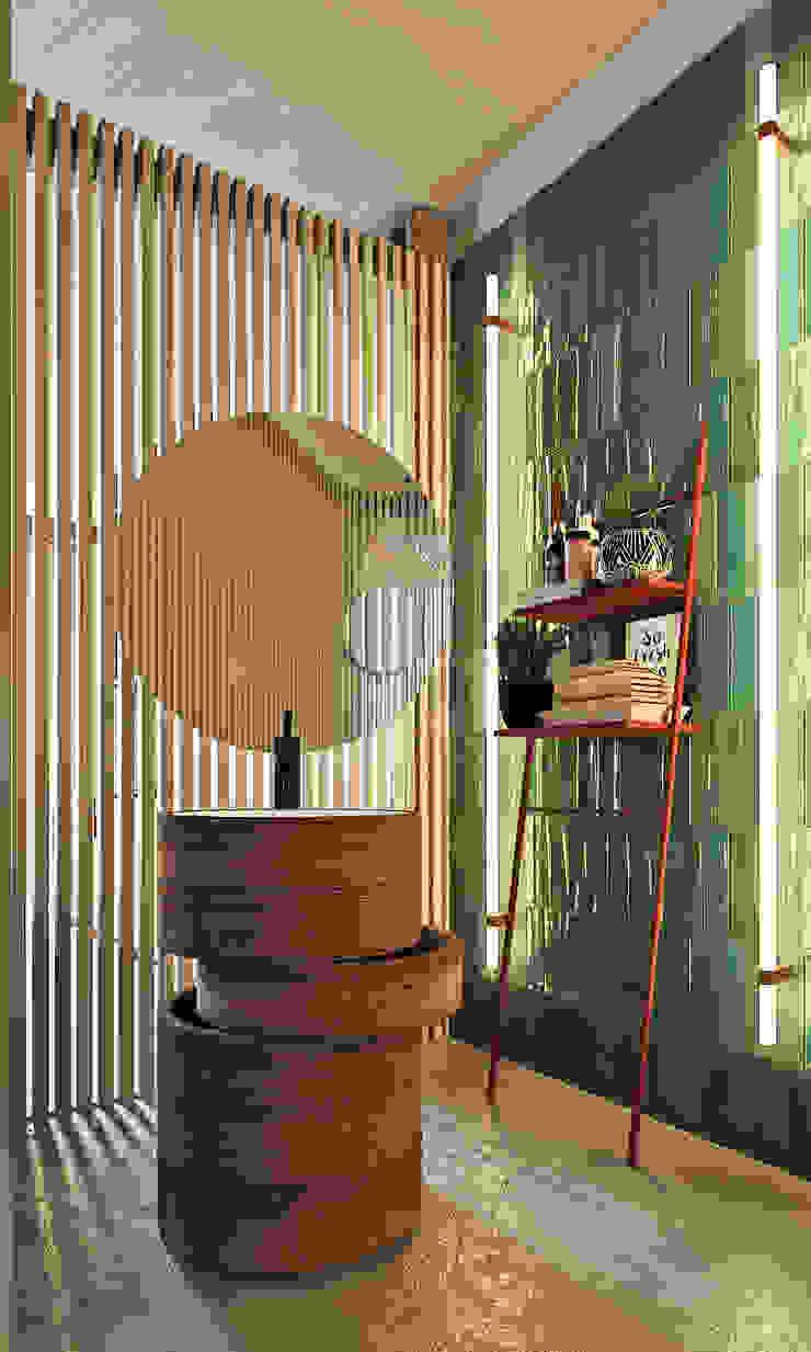 Entalcev Konstantin Rustic style bathroom