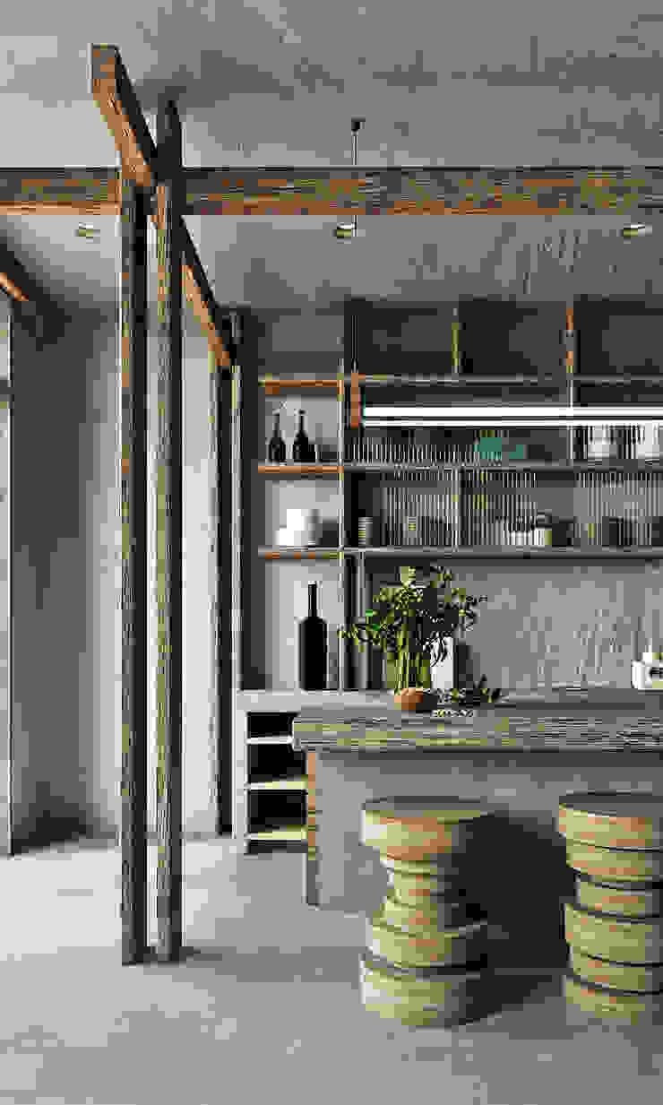 Entalcev Konstantin Rustic style kitchen