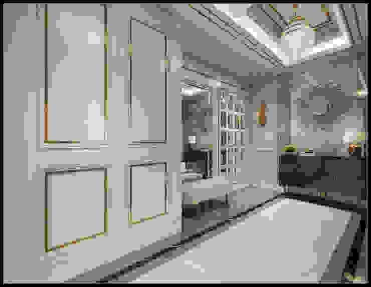 台北市士林李公館 經典風格的走廊,走廊和樓梯 根據 立騰空間設計 古典風