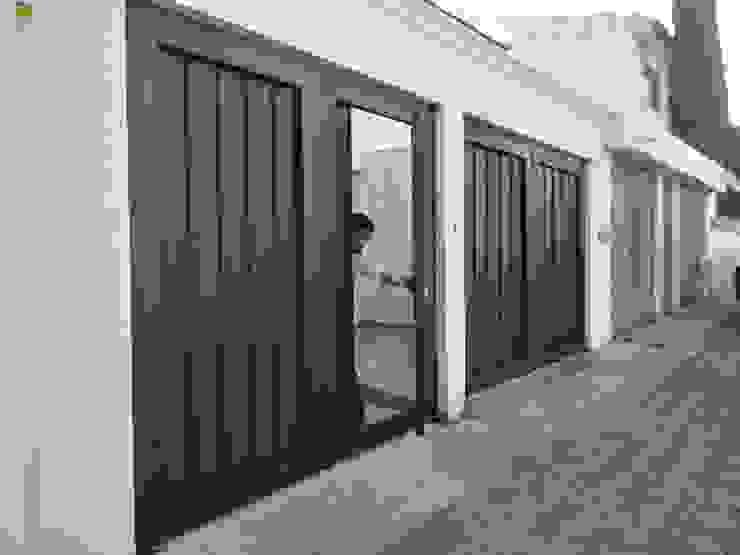 Herrería Querétaro pintu depan Besi/Baja Black