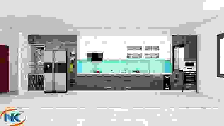 Combo mẫu tủ bếp acrylic đa dạng màu sắc hiện đại bởi Nội thất Nguyễn Kim