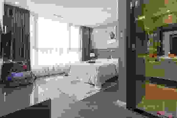 CĂN HỘ HIỆN ĐẠI – LỰA CHỌN CHUẨN CHO GIA ĐÌNH THÀNH THỊ! Phòng ngủ phong cách hiện đại bởi ICON INTERIOR Hiện đại