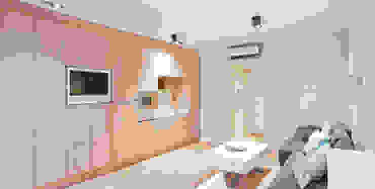 Salon domotizado y automatizado para la eficiencia energética Salas de estilo moderno de Domonova Soluciones Tecnológicas para tu vivienda en Madrid Moderno