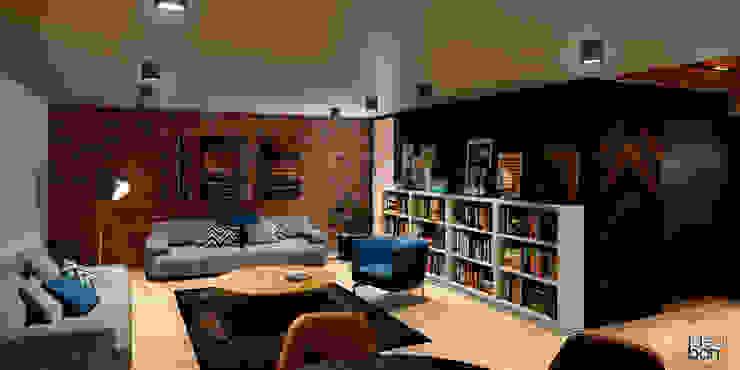 Casa Esperanza.: Salas de estilo  por IdeaBang, Minimalista