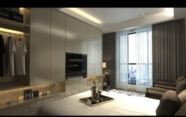 Wardrobe design Manglam Decor Modern style bedroom