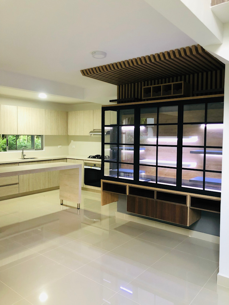 Modern kitchen by SEQUOIA. Projects & Designs Modern