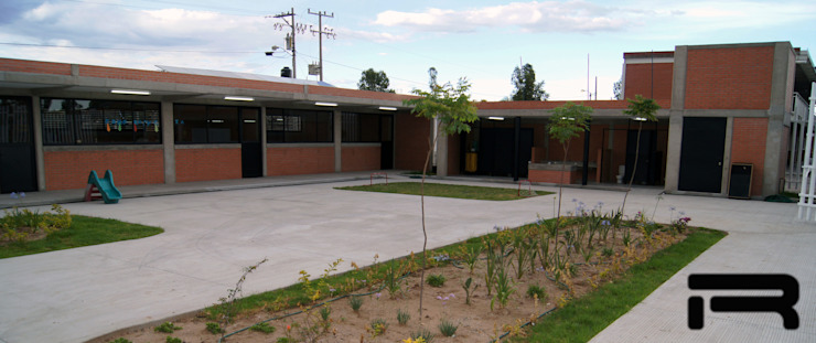 Colegio Preescolar Estudios y despachos minimalistas de Rabell Arquitectos Minimalista