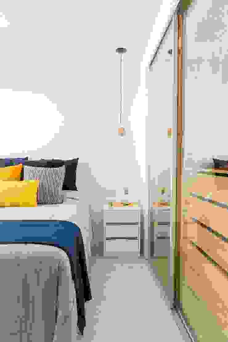 Mirá Arquitetura Petites chambres MDF Blanc