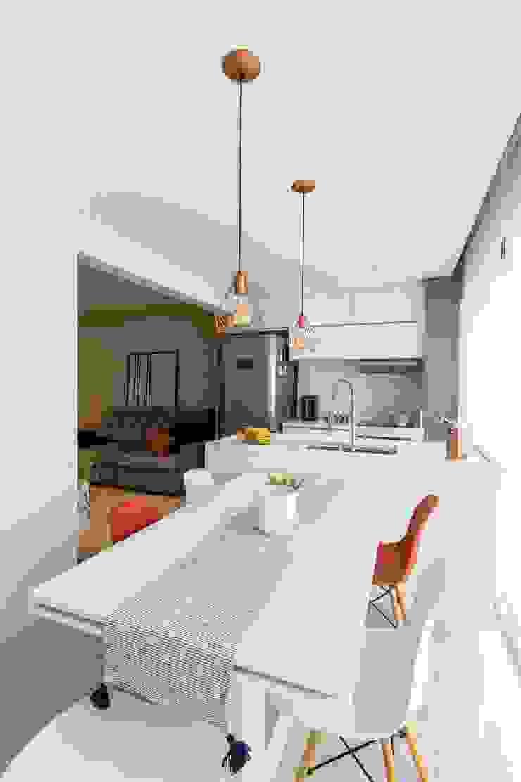 Dapur Modern Oleh Mirá Arquitetura Modern Marmer