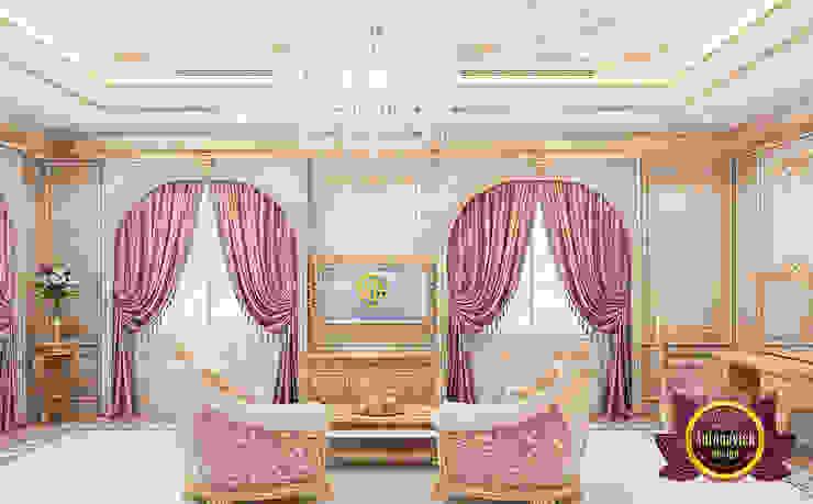Stunning Luxury Bedroom for a Queen by Luxury Antonovich Design