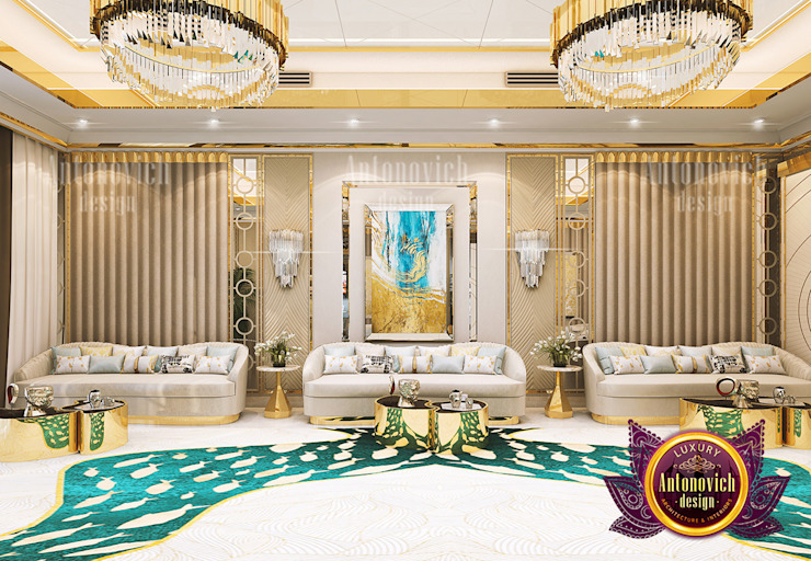 The Impact of Colors in Interior Design by Luxury Antonovich Design
