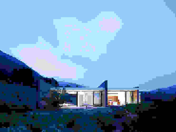 Im Jura Moderne Häuser von Ecologic City Garden - Paul Marie Creation Modern