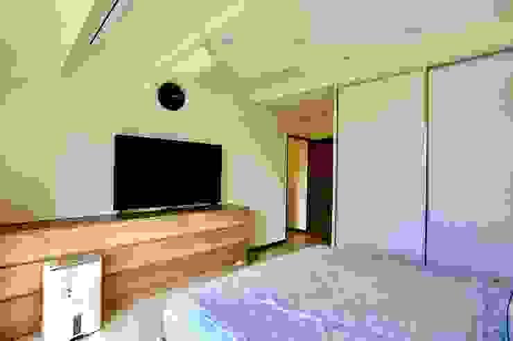 غرف نوم صغيرة تنفيذ 藏私系統傢俱, تبسيطي