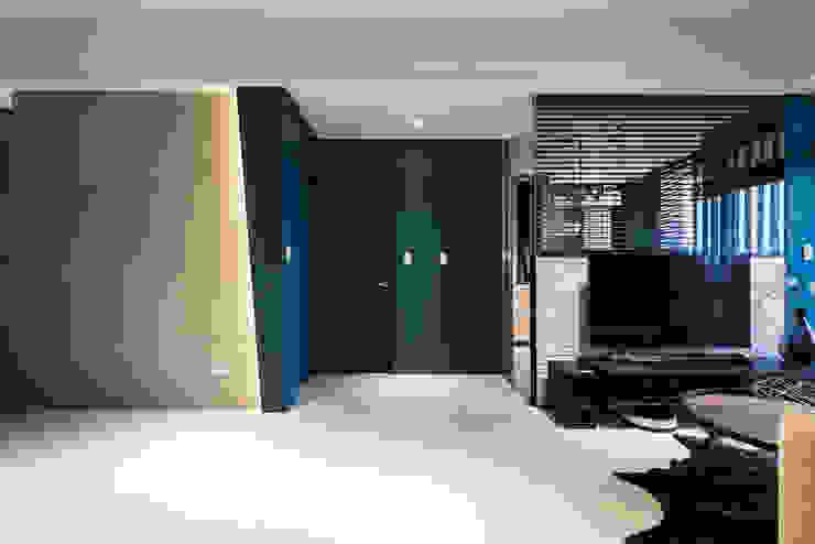 客廳 根據 你你空間設計 工業風