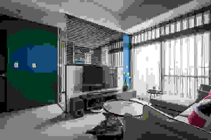 電視牆 根據 你你空間設計 工業風