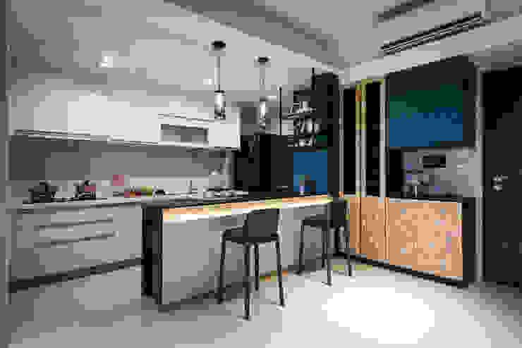 廚房 根據 你你空間設計 工業風