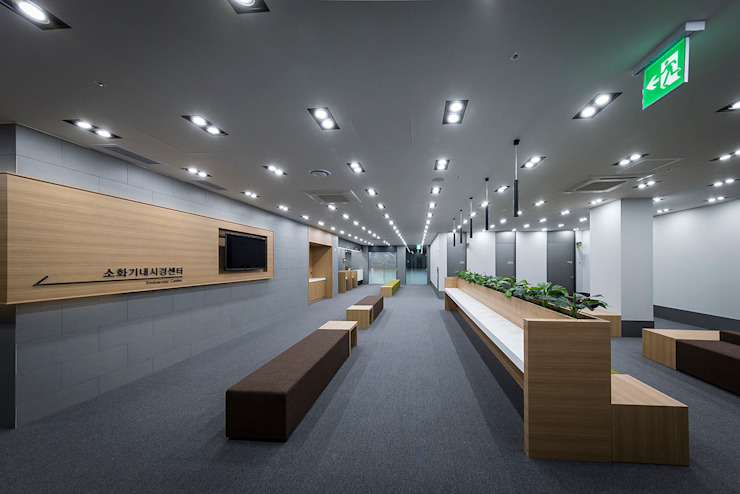 ㅤㅤ 모던 스타일 병원 by 므나 디자인 스튜디오 모던