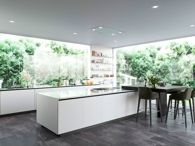 Render de una zona de la cocina. de Proyecto 3D Valencia Renders Animaciones 3D Infografias Online