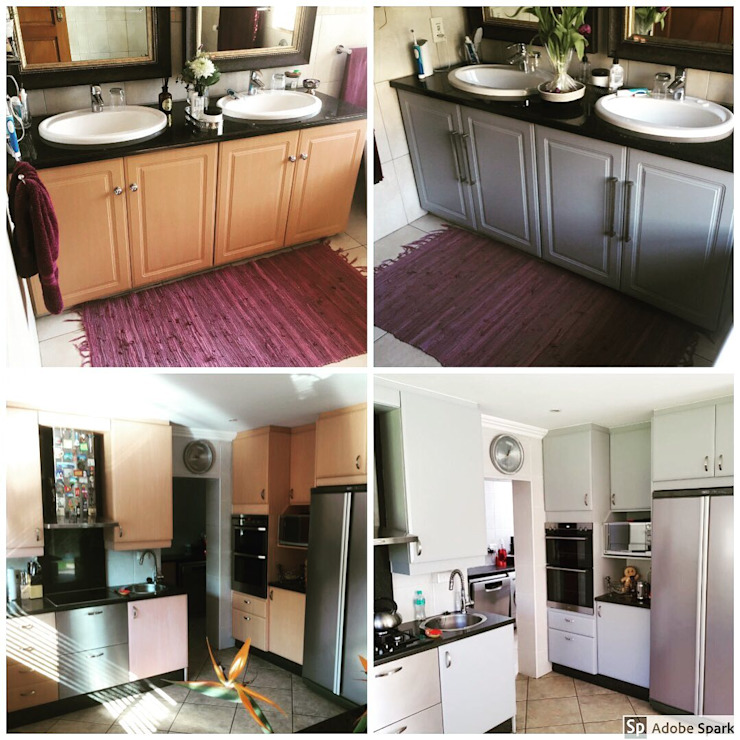 House Borrill - Bedfordview by Kitchen Respray and More