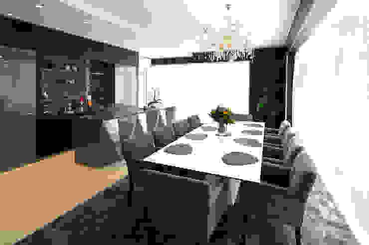 moderne woonkamer Marcotte Style Moderne woonkamers Kunststof Grijs
