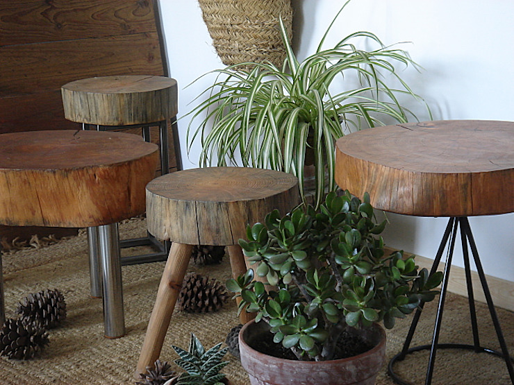 Naturalis Muebles Ecológicos KitchenTables & chairs Solid Wood