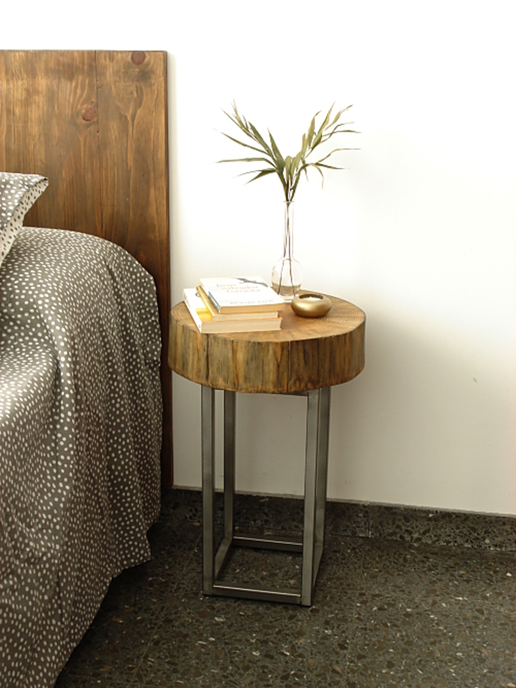 Naturalis Muebles Ecológicos BedroomBedside tables Solid Wood