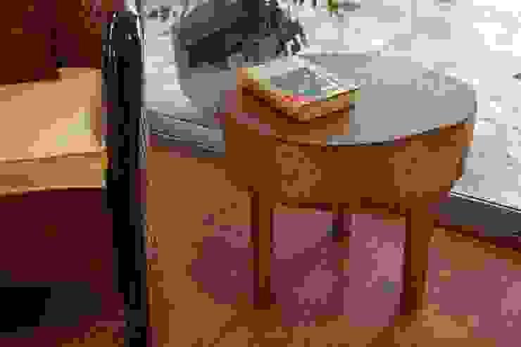 Naturalis Muebles Ecológicos Balconies, verandas & terraces Furniture Solid Wood
