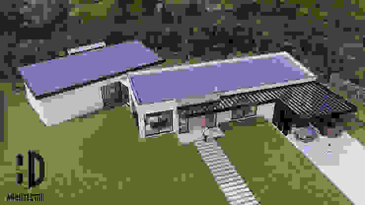 Vista aérea de HD Arquitectura Minimalista