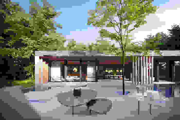 Habitacion Premium Casas modernas: Ideas, imágenes y decoración de T + T arquitectos Moderno