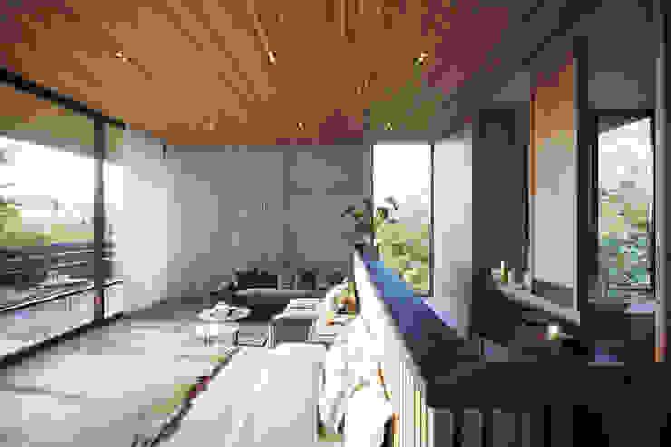 Habitacion Deluxe Interior Casas modernas: Ideas, imágenes y decoración de T + T arquitectos Moderno