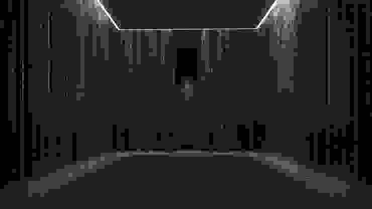 Acceso Interior Hoteles de estilo moderno de T + T arquitectos Moderno