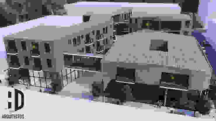 Vista aérea Casas de estilo colonial de HD Arquitectura Colonial