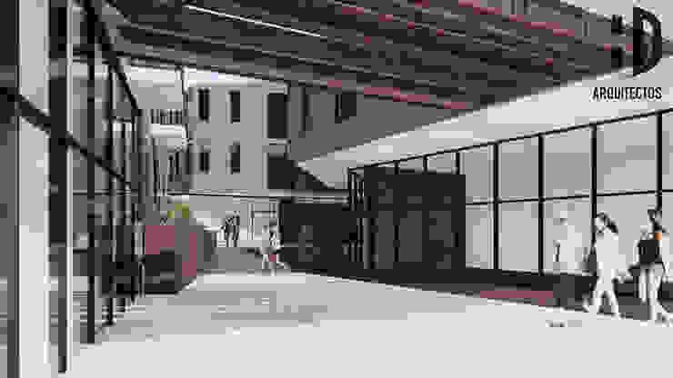 Imaginario interior Casas de estilo colonial de HD Arquitectura Colonial