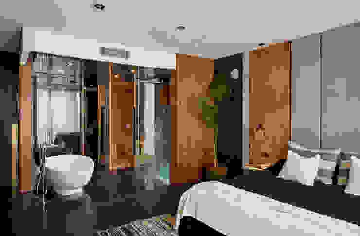 Casa El Canton Dormitorios modernos: Ideas, imágenes y decoración de T + T arquitectos Moderno