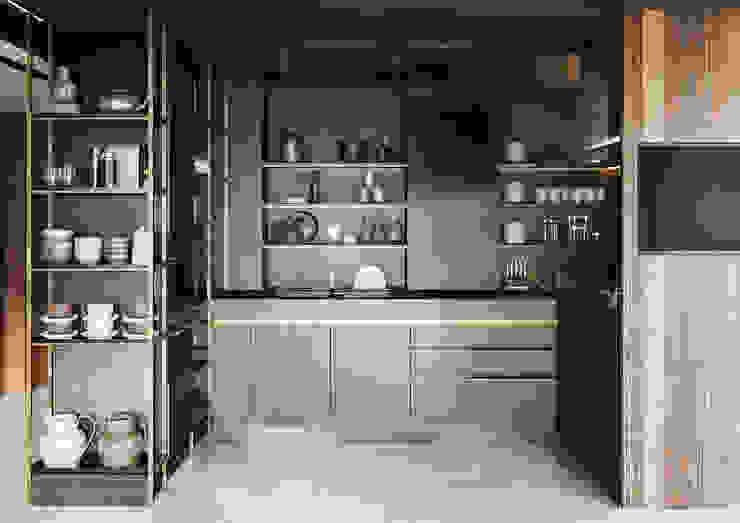 Torre Deco Cocinas modernas: Ideas, imágenes y decoración de T + T arquitectos Moderno