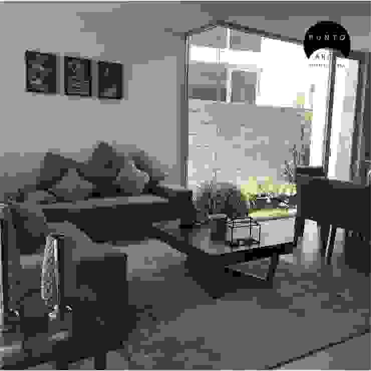 Sala: Salas de estilo  por PUNTO ARCO ARQUITECTOS, Minimalista