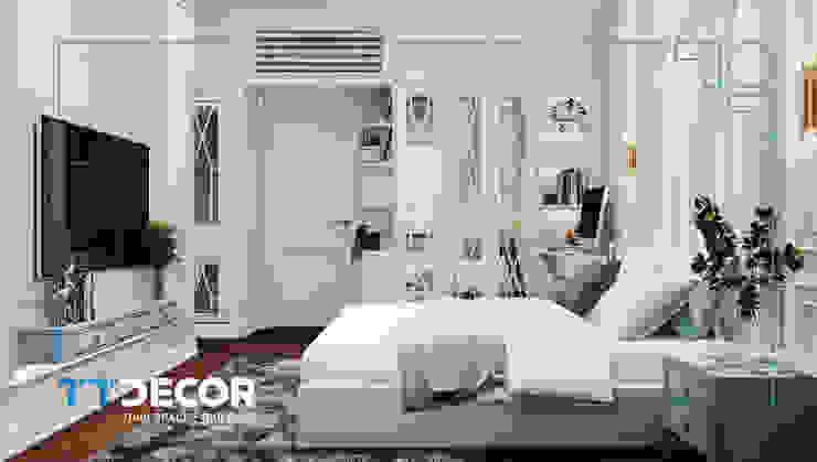 Nhà mẫu KĐT Vạn Phúc: hiện đại  by Công ty CP Trang Trí Nội Thất Tín Trung, Hiện đại Gỗ Wood effect