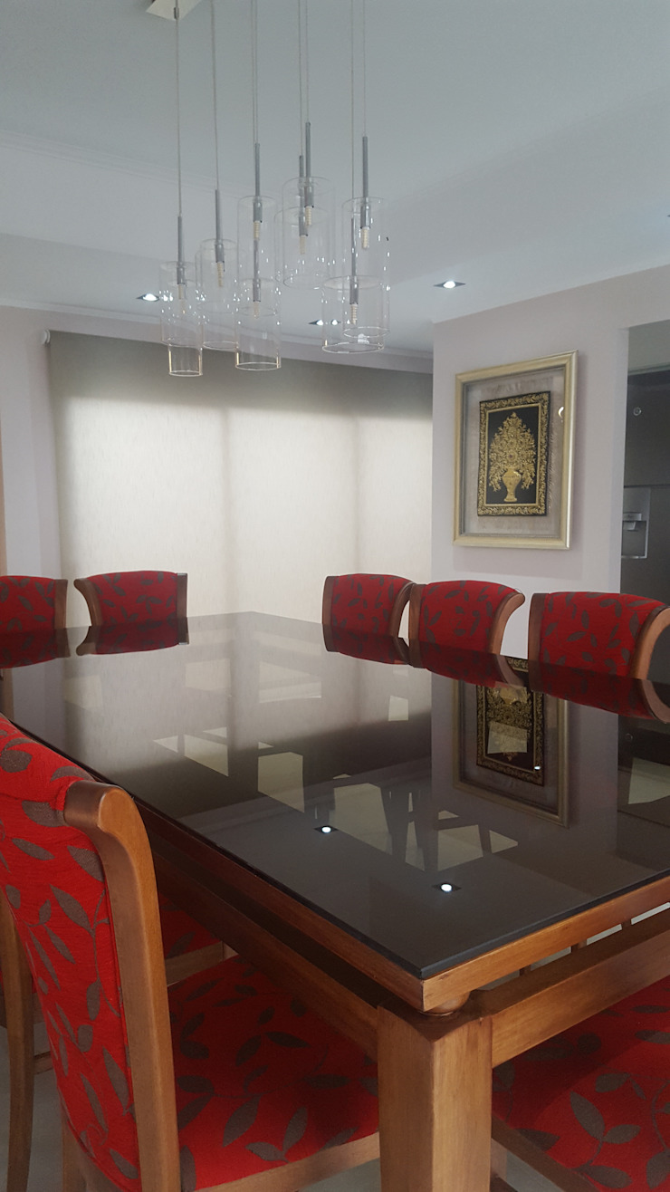 Classic style dining room by milena oitana Classic Glass